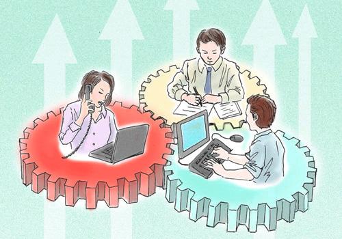 データと日々の業務の連動